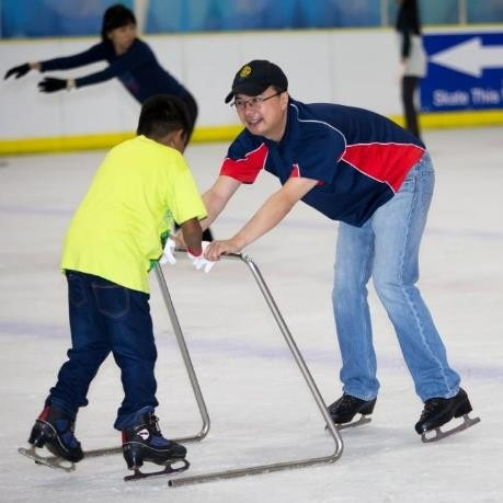 An Ice Skating Adventure for FGP Mentors and Mentees